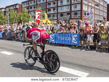 The Cyclist Geoffrey Soupe - Tour De France 2015