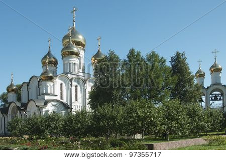 The Cathedral Of St. Nicholas And The Church Of The Beheading Of John The Baptist