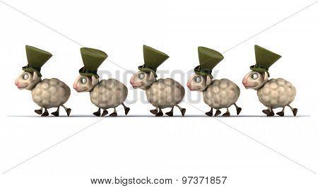 Fun sheeps