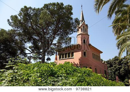 House Antonio Gaudi In Park Guell