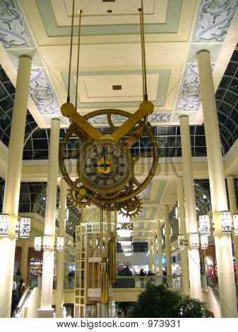 Pendulum Clock In Mall 1