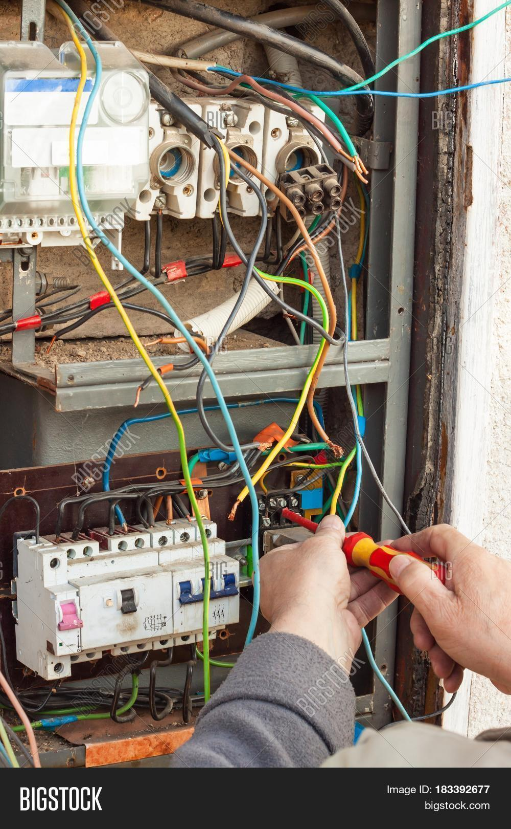 Repair Old Electrical Image & Photo (Free Trial)   Bigstock