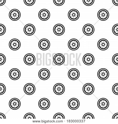Big objective pattern seamless in simple style vector illustration