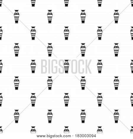 Egyptian vase pattern seamless in simple style vector illustration