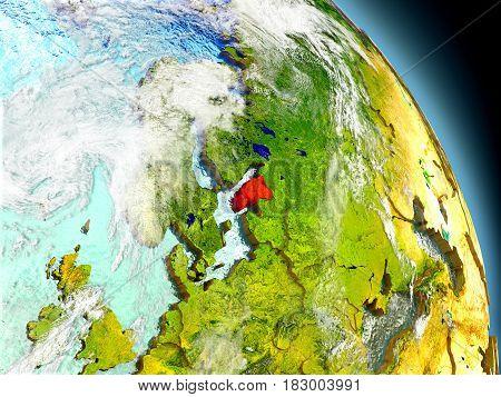 Estonia From Space