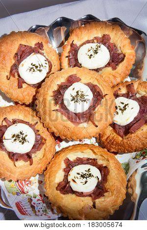 finger food original of Italian fine cuisine