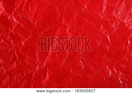 Close-up of texture red color paper for background