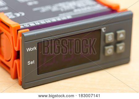 Digital Controller Temperature Alarm Security