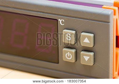 Digital Controller Lcd Panel Screen