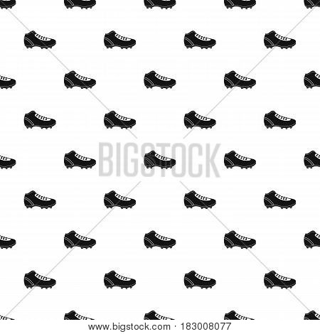 Baseball cleat pattern seamless in simple style vector illustration