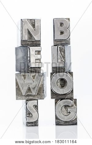 news and blog with lead letters