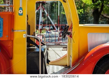 Carousel In Luna Park