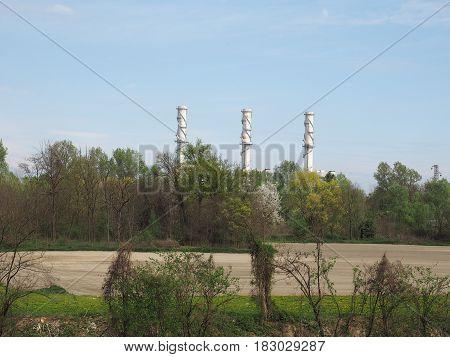 Power Station In Chivasso