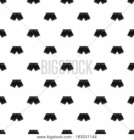 Male underwear pattern seamless in simple style vector illustration
