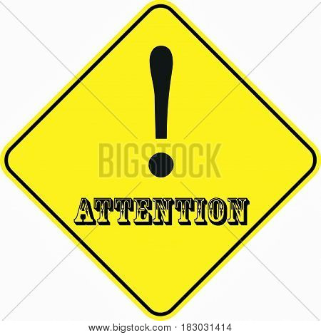 attention alert symbol sign logo yellow safety