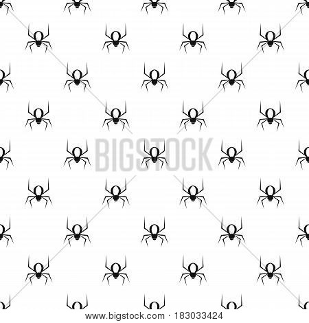 Spider pattern seamless in simple style vector illustration