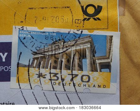 Stamp Of Germany