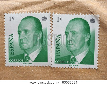 Stamps Of Spain