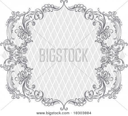vintage background design - frame
