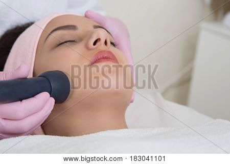 Young Woman Visiting Cosmetologist