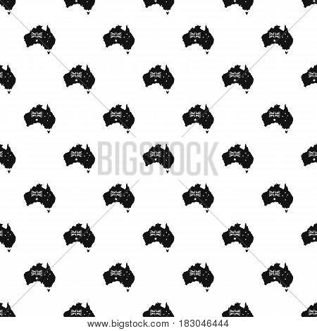 Australia pattern seamless in simple style vector illustration