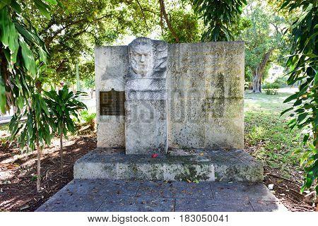 Victor Hugo Park - Havana, Cuba