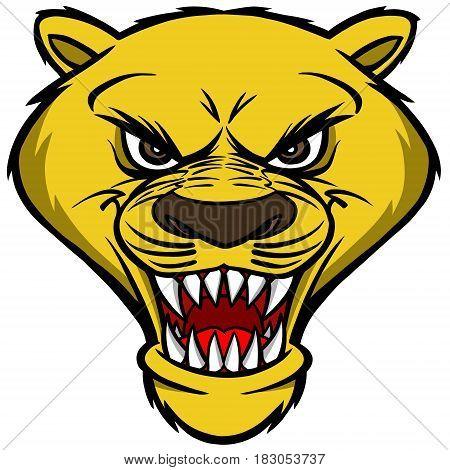 Cougar_mascot_head.eps