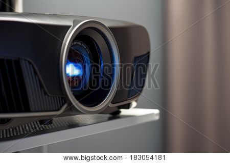 Closeup Of Projector