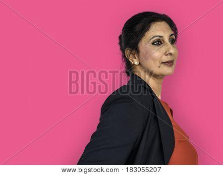 Woman Confidence Self Esteem Portrait Concept