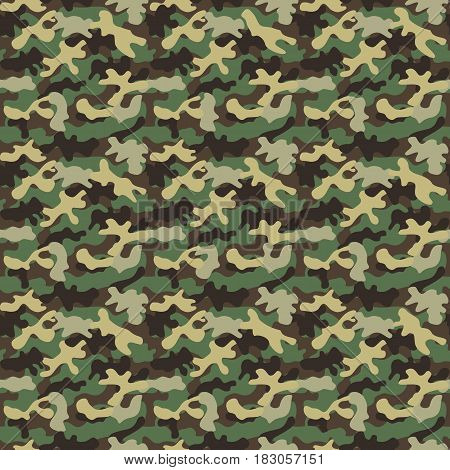 Camouflage seamless pattern. Camouflage backgrund pattern icon vector illustration design