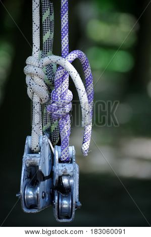 Rope With Rollers.