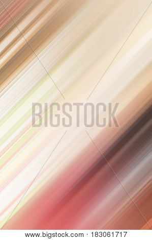 Conceptual bright motion blur linear colorful soft light gradient abstract design background or backdrop blurry wallpaper with contemporary elegant artistic lines