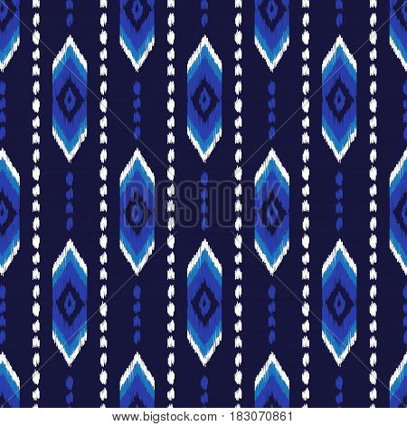 Colorful aztec seamless pattern. American native ethnic textile pattern. Hipster striped seamless pattern. Navajo abstract background. Design may be used for wallpaper, textile, wrapper.
