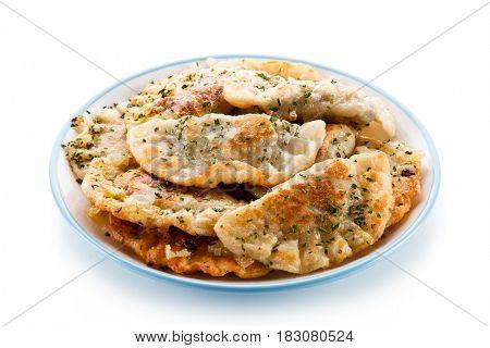 Dumplings - stuffed noodles