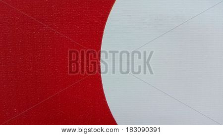 Texture of pvc. Background red and white