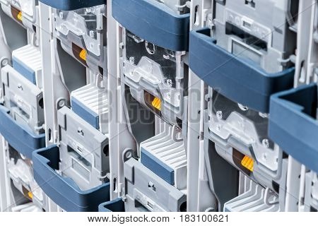 Power circuit breakers for high-voltage network. Abstract Industrial background.