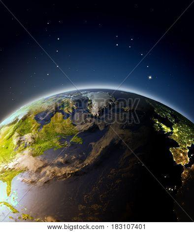 North Atlantic From Orbit