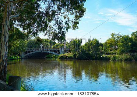 King William Road Bridge, Adelaide, South Australia.