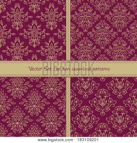 Seamless abstract holiday pattern. Seamless pattern can be used for pattern fills web page background surface textures cards. Floral textile background