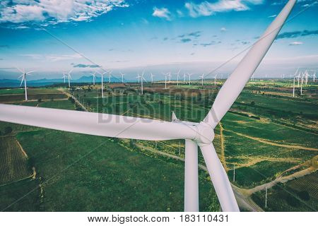Wind Turbine, Wind Energy Concept.