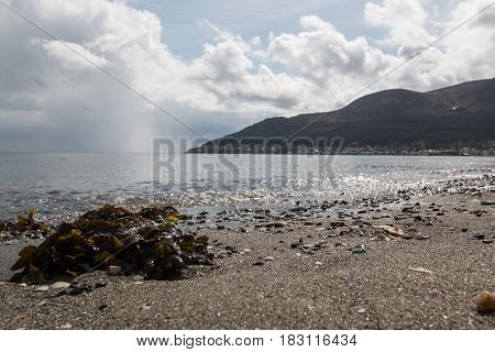 Beach in Newcastle, County Down, Northern Ireland