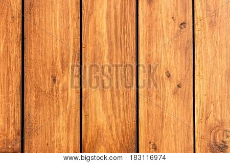Wooden boards timber teak color wood structure background