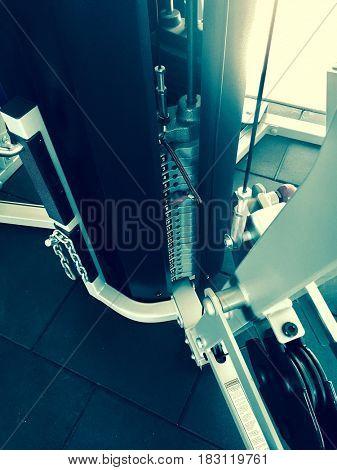 Gym equipment for health life