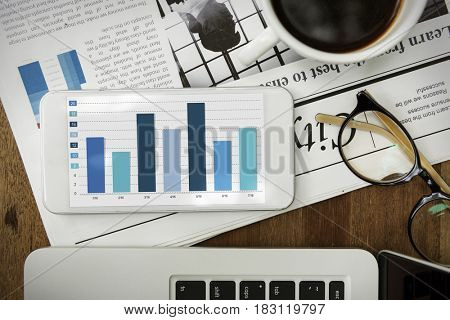 Graph Bar Chart Diagram Statistics Graphic