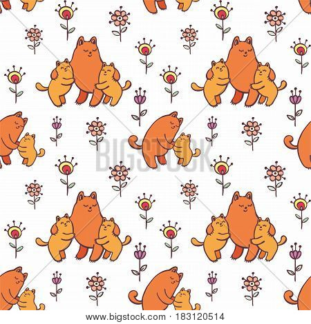 Pattern With Cats.eps