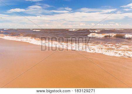 Divine Coastline On a Beach
