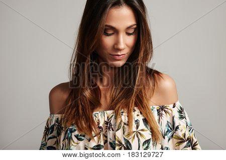 Spanish Woman's Portrait