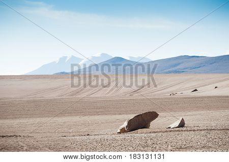 High-altitude Landscapes On The Plateau Altiplano, Bolivia