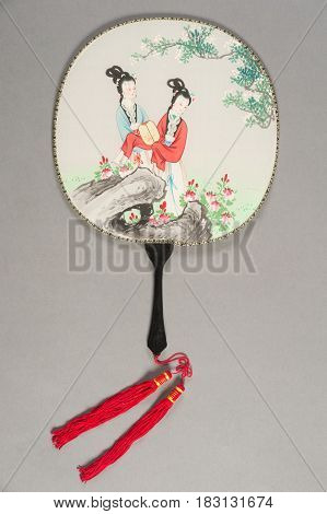 Hand Fan Of Chinese Theater