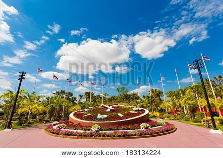 Udon Thani Central Park Clock